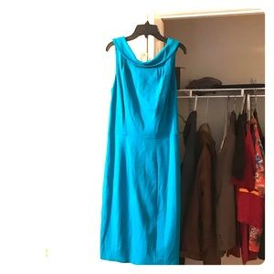 Medium Blue Caché Dress